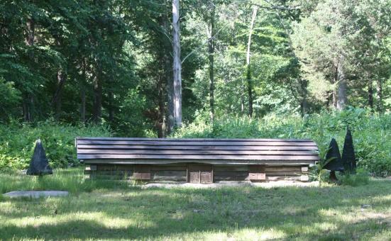 Fence #3 Log Cabin