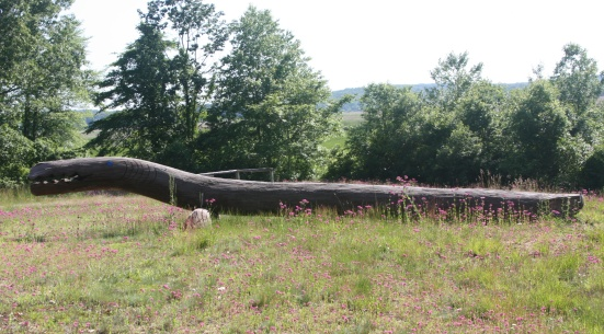 Fence #17 Brown Lizard