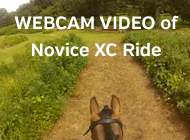 Webcam Video of Novice XC Ride